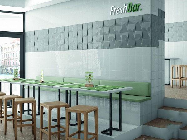 Điểm danh các mẫu gạch ốp tường quán cafe hot hit 2021 7