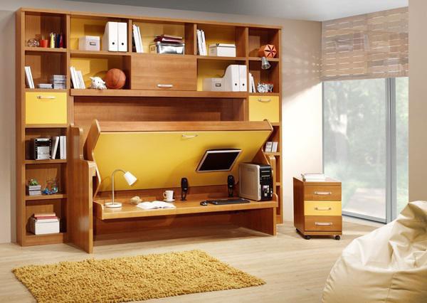 Những mẫu thiết kế nội thất thông minh cho nhà nhỏ đẹp 2021 1