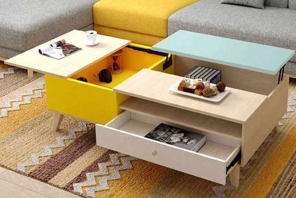 Những mẫu thiết kế nội thất thông minh cho nhà nhỏ đẹp 2021 2