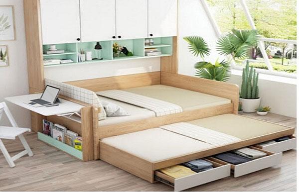 Những mẫu thiết kế nội thất thông minh cho nhà nhỏ đẹp 2021 3